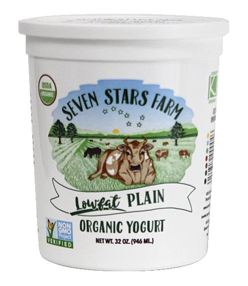 Lowfat Plain Seven Stars Yogurt